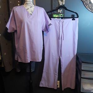 Cherokee Purple Scrub Set Size M